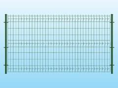 Recinzione modulare in rete elettrosaldataECO VERDE - FERRO BULLONI ITALIA