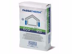 Adesivo-rasante fibrorinforzato alleggeritoECO-LIGHT 950 - FASSA