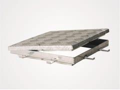 Chiusino a pavimento in alluminioECO-RIWA - FF SYSTEMS