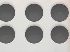 Pannello acustico a parete in fibra di poliestereECODROP - SLALOM