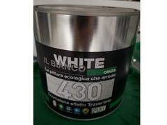 Pittura decorativa ad effetto travertinoECOMATERIA 430 - OIKOS WHITE