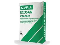CVR, ECOSAN Intonaco a base di calce idraulica e idrata