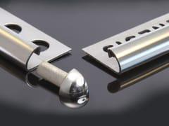 Profilo paraspigolo in acciaio inoxECQ - GENESIS