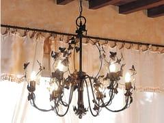 Lampadario a luce indiretta in ferroEDERA   Lampadario - OFFICINACIANI DI CATERINA CIANI & CO.