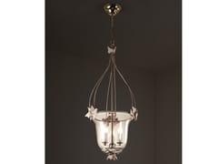 Lampada a sospensione a luce indiretta in ferro e vetroEDERA   Lampada a sospensione - OFFICINACIANI DI CATERINA CIANI & CO.