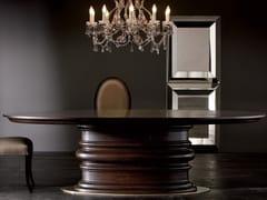 Tavolo ovale in legno EDGAR | Tavolo ovale -