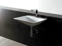 Lavabo rettangolare in ceramica EDGE 59X54 THIN | Lavabo - Edge