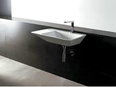 Lavabo rettangolare in ceramica EDGE 80X50 | Lavabo - Edge