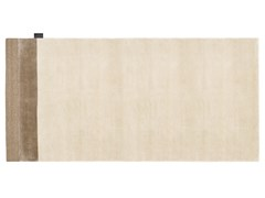 Tappeto a tinta unita rettangolare in Lyocell®EDGE - ASPLUND