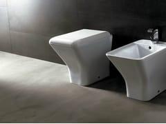 Wc in ceramica EDGE QUADRA | Wc - Edge