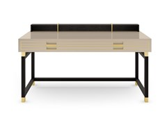 Scrivania rettangolare in legno massello con cassettiEDINBURGH   Scrivania - FRATO