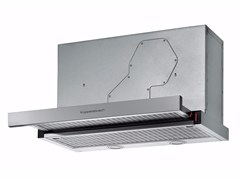 Cappa estraibile in acciaio inox ad incasso EDIP 6550.0 | Cappa -
