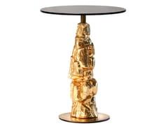 Tavolino alto rotondo in vetroEDITH   Tavolino alto - MARIONI