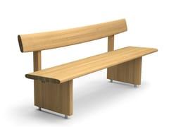 VESTRE, EDO | Panchina in legno massello  Panchina in legno massello