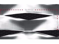 FILS, EF400/1 Rete metallica stirata per rivestimento di facciata