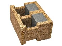 Legnobloc, EG 38/14 Blocco cassero in legno-cemento