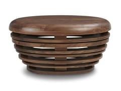 Tavolino di servizio in noceEGG | Tavolino in noce - REDA AMALOU DESIGN