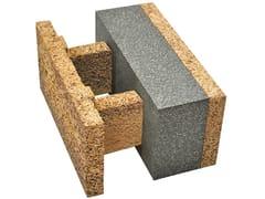 Blocco da tamponamento in legno-cementoEGH 38/19,5 - LEGNOBLOC