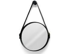 Specchio rotondo con cornice da pareteEGO STUD - MOROSO