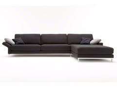 Divano modulare in tessuto con chaise longue EGO | Divano con chaise longue - Ego