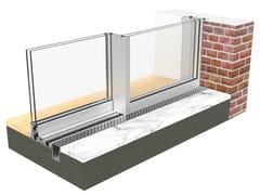 PROFILATI, EKU PERFEKTION® SLIDE Scorrevole minimale in alluminio a taglio termico
