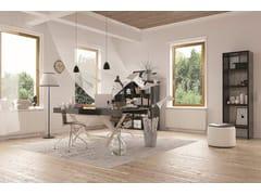 PROFILATI, EKU PERFEKTION® WOOD Finestra a taglio termico in alluminio e legno