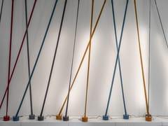 Lampada da terra a LED ad altezza regolabile in tessutoELASTICA - MARTINELLI LUCE