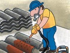 Incapsulante temporaneo per lastre in cemento-amianto ELASTOCAP-A - PROTECH