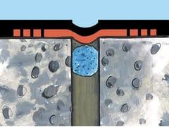 Banda impermeabilizzante in Hypalon, da 25 cm, per giunti ELASTOTEX 250 COMBI - PROSEAL