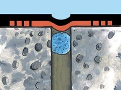 Banda elastomerica impermeabilizzante da 32.5 cm per giunti ELASTOTEX 325 - PROSEAL