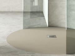 Piatto doccia antiscivolo filo pavimentoELAX - FIORA