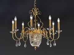 Lampadario a luce diretta in metallo ELEGANTIA 8+1 - Elegantia