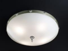 Plafoniera a luce diretta in vetro ELEGANTIA PLV4 - Elegantia
