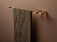 Porta asciugamani a barra in acciaio inoxELEMENTA   Porta asciugamani a barra - RUBINETTERIE RITMONIO