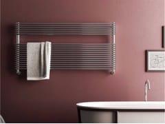 Scaldasalviette orizzontale a parete ELEN WIDE - Radiatori in acciaio inox