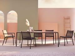 Tavolo da giardino rettangolareELEVEN | Tavolo rettangolare - TERRAFORMA
