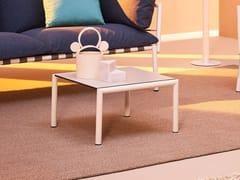 Tavolino da giardino quadrato in HPLELEVEN | Tavolino quadrato - TERRAFORMA
