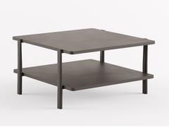Tavolino quadrato in MDFELEVEN TABLE DOUBLE - 954   Tavolino quadrato - ALIAS