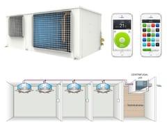 Climatizzatore senza unità esterna commerciale con sistema inverterELFO VRF - TEKNO POINT ITALIA