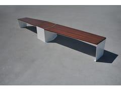 LAB23, ELICA Panchina in legno e acciaio