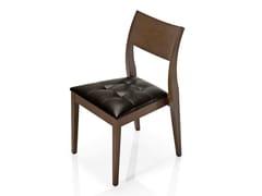 Sedia in pelle ELIE | Sedia in pelle - Elie