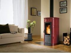 Stufa a legna per riscaldamento aria classe A+ELISA - PALAZZETTI LELIO