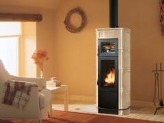 Stufa a legna per riscaldamento aria classe A+ELISA CON FORNO - PALAZZETTI LELIO