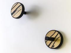 Coppia di appendiabiti in legno pregiato ELITE EBANO - INVERSO