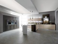 Cucina componibile in legno massello con penisolaELITE - GF FLORITELLI