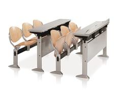 Seduta su barra in faggio con sedile ribaltabile ELLISSE | Seduta su barra in faggio - Ellisse