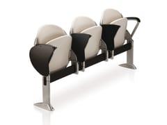 Seduta su barra in tessuto con ribaltina con sedile ribaltabile ELLISSE   Seduta su barra in tessuto - Ellisse