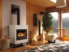 Stufa a legna per riscaldamento aria classe AELSA STAR - PALAZZETTI LELIO
