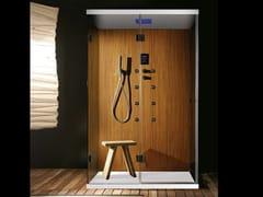CARMENTA, EMOTION Bagno turco con doccia con cromoterapia