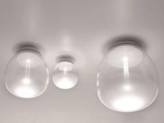 Lampada da parete / lampada da soffitto in vetro soffiatoEMPATIA | Lampada da soffitto - ARTEMIDE